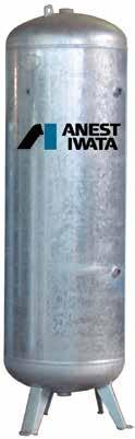 Cuve verticale 500L galvanisée IWATA
