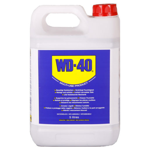 Dégrippant WD-40 (bidon 5L)
