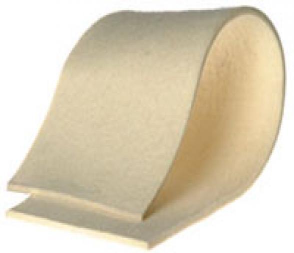 Bande feutre 1800x150mm Ep.10mm, densité 0.25