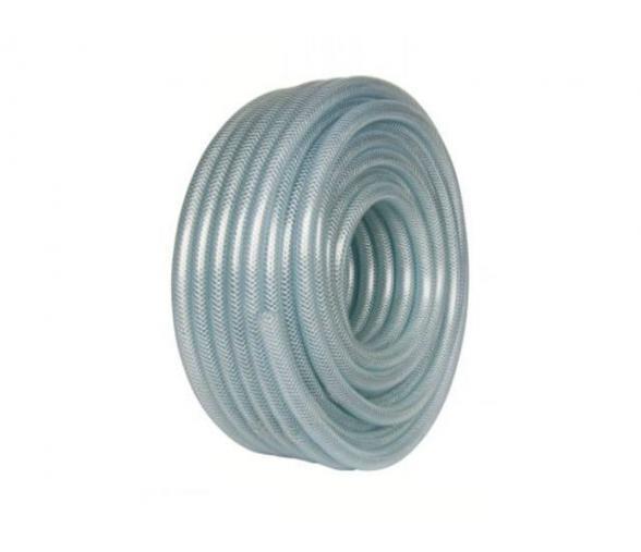 Tube PVC tréssé Øint.6 Øext.12 translucide