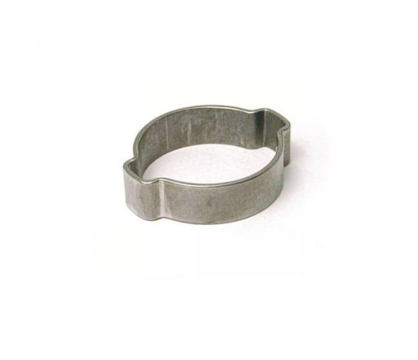 Boite 100 colliers à deux oreilles pour tuyau Ø ext. 13 à 15mm