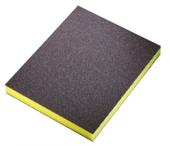 Carton 250 éponges abrasives Sia - flex pad fine jaune