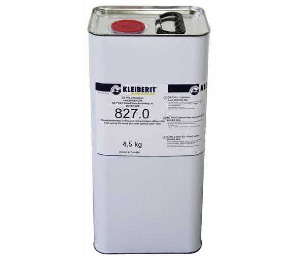 Nettoyant 827 pour bac colle thermofusible, bidon 4,5Kg