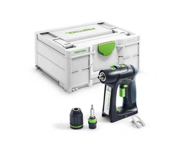 Perceuse-visseuse sans fil  FESTOOL C 18 Li-Basic
