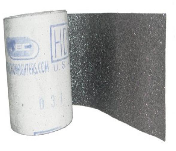 Toile graphitée Mirka - type GC 6 25 YDS largeur 150mm au ml