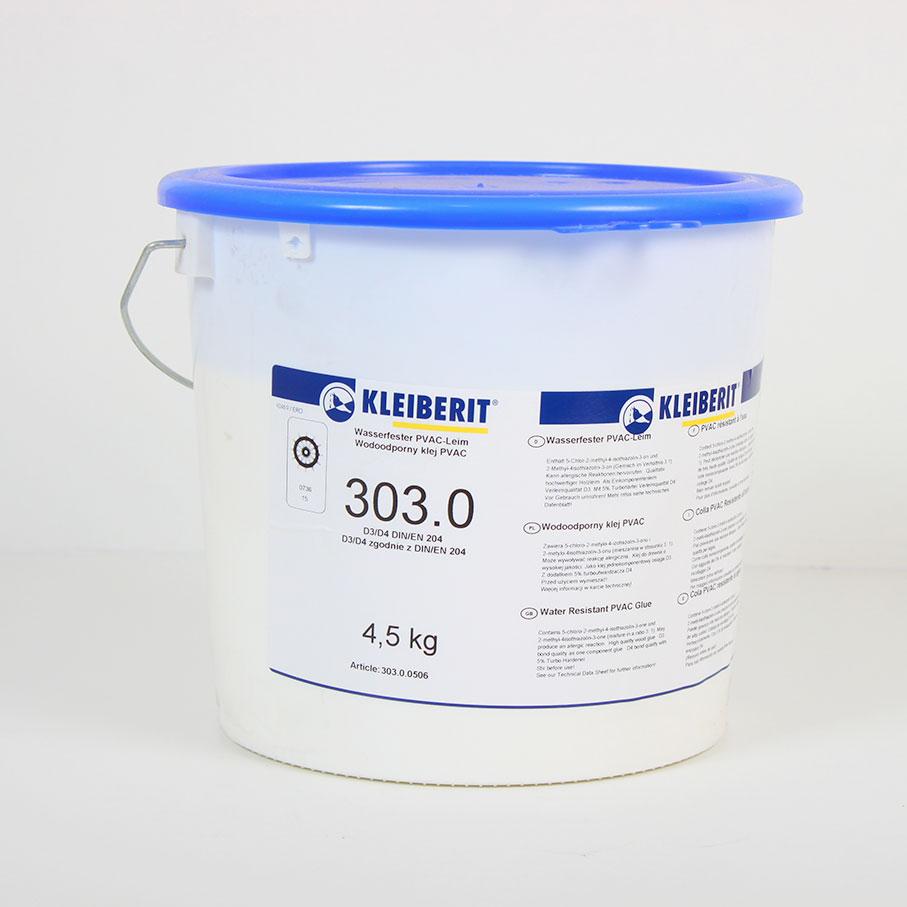 Seau de 4,5Kg colle blanche vynilique D3 303.0 (prise rapide)